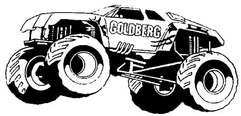 maximum destruction monster truck coloring pages