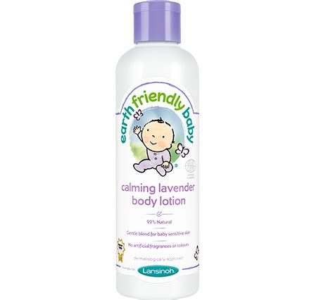Nature Lotion Relaxing Lavender earth friendly baby calming bath