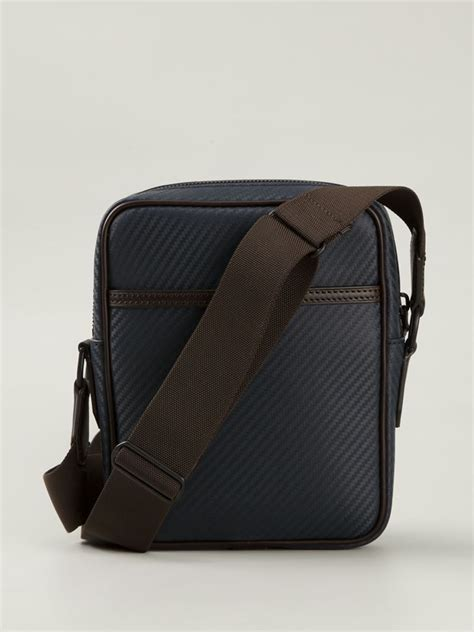 bags for dunhill messenger bag in blue for lyst