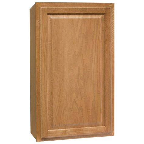 medium oak kitchen cabinets hton bay hton assembled 21x36x12 in wall kitchen