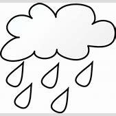 Rain Line Art C...