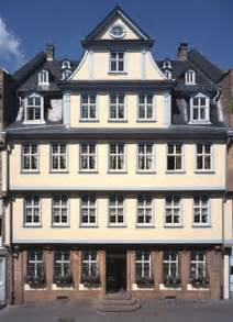 goethe haus goethe house goethehaus frankfurt