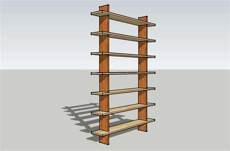 Free Standing Shelf by Knockdown Free Standing Shelf Diywiki