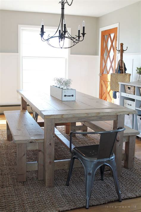 Farmhouse Dining Room Table Seats 10 1000 Ideas About Rustic Farmhouse Table On