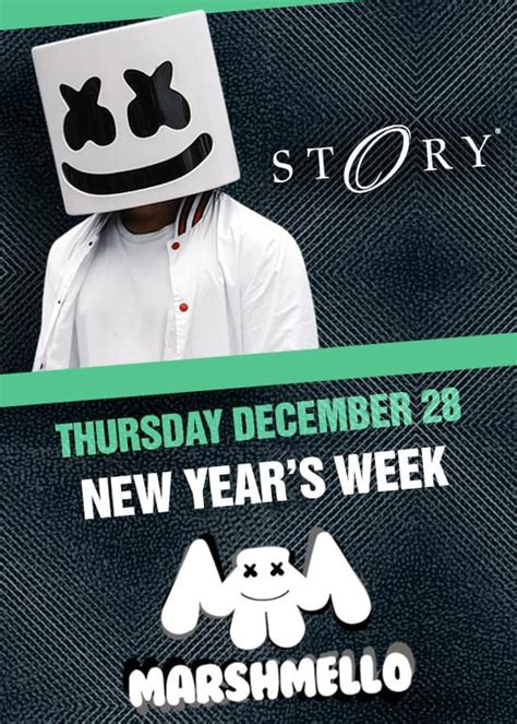 new year two week marshmello new year s week tickets at story nightclub in