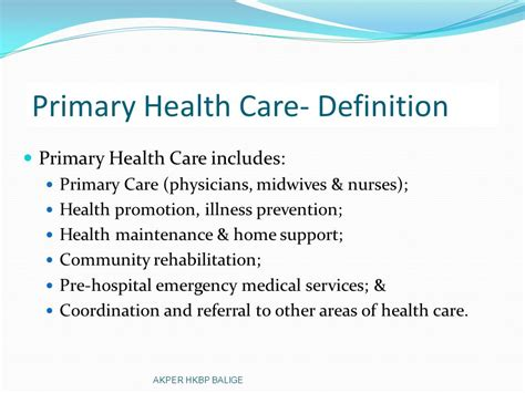 primary health care elfrida nainggolan skm akper hkbp