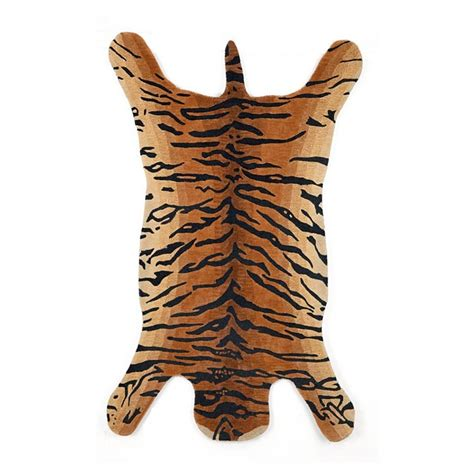 indoor faux tiger skin rug collection accessories