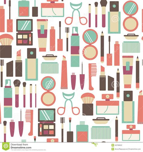 makeup pattern wallpaper makeup pattern stock photo image 40799522