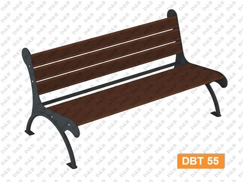composite benches dbt 55 composite bench outdoor fitness equipment
