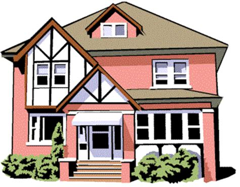 clipart and animated houses buildings and landmarks