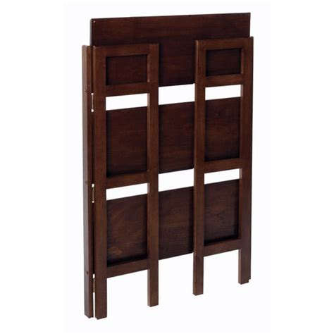 28 Inch Wide Bookcase shelves 28 inch wide beechwood three tier folding shelf with antique walnut finish