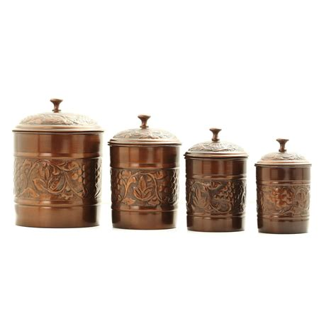 amazon com set of 3 french tuscan red swirl ceramic kitchen canisters sets signature housewares sorrento