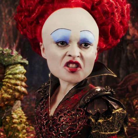la reina roja helena bonham carter la reina roja de quot alice through the looking glass quot
