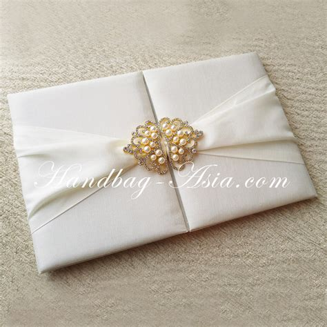 Luxury Handmade Wedding Invitations - handmade wedding invitation folder designed for luxury