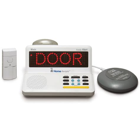 maxiaids sonic alert homeaware home alert system master kit