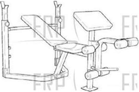 weider pro 208 weight bench weider pro 208 webe20580 fitness and exercise equipment repair parts