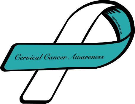 cervical cancer ribbon color cervical health awareness month