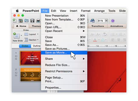 tutorial on powerpoint presentation tutorial save your powerpoint as a video present better