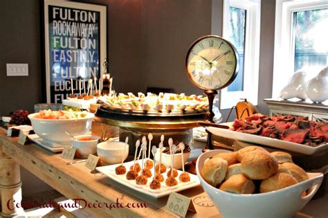 new year buffet ideas the anatomy of a quot time for a quot part v the
