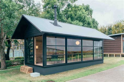 premade cottages muji prefab cabins hiconsumption
