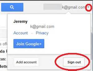 sign out of gmail on android i opened a new gmail account for business however i can