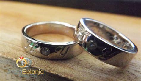 Kalung Cincin Nama Lapis Emas Kotak Perhiasan Kado Ultah Pernikahan cincin kawin inisial nama bahan perak lapis emas cincin kawin jogja cincin kawin jogja