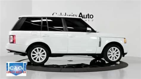 black land rover range rover land rover range rover supercharged white black 2012 youtube