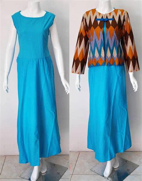 Baju Batik Muslim Biru baju muslim batik motif rang rang2 baju kerja batik