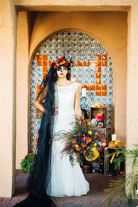 Dia De Los Muertos   Bespoke Bride: Wedding Blog