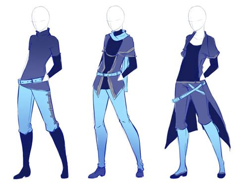 anime boy outfit ideas drawn costume famous fashion designer pencil and in