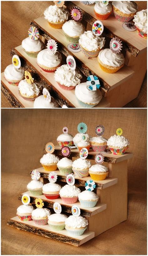 Diy Cupcake Stand Ideas 1000 Ideas About Diy Cupcake Stand On Cupcake Display Cupcake And Food Displays