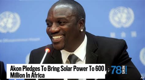 akon being used by to sell solar power to africa