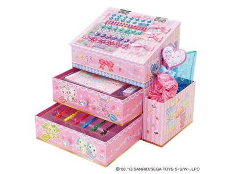Makeup Vanity Case Jewelpet Tokimeki House Shaped Decoration Stationery Box