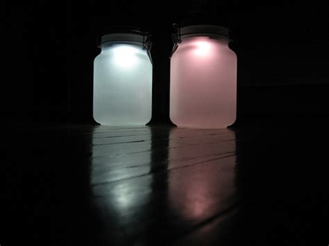 Solar Powered Jar L 8 Fun Cing Diy Ideas Diy Solar Lighting