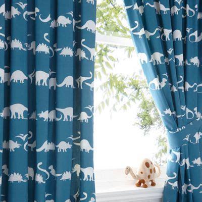 boys dinosaur curtains kids blue dinosaur print curtain set shops kid and boys