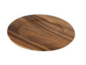 Modern Vintage Desk Charger Plate Wood Charger Plate Wood Charger
