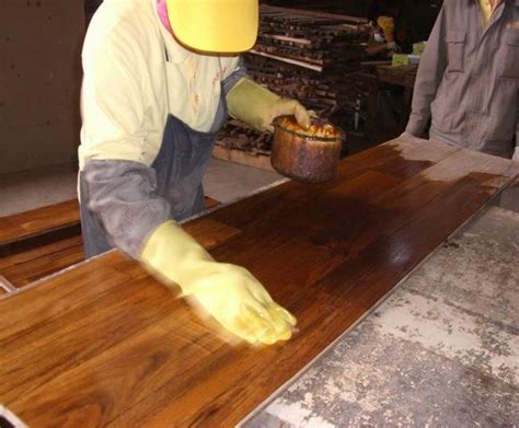 How To And Wax A Floor by Wax Coating The Popular New Type Timber Floor Finish