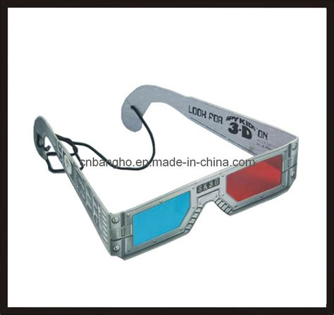 How To Make Paper 3d Glasses - china printing paper 3d glasses china 3d paper glasses
