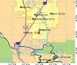 hesperia california map information about hesperia california inside the inland