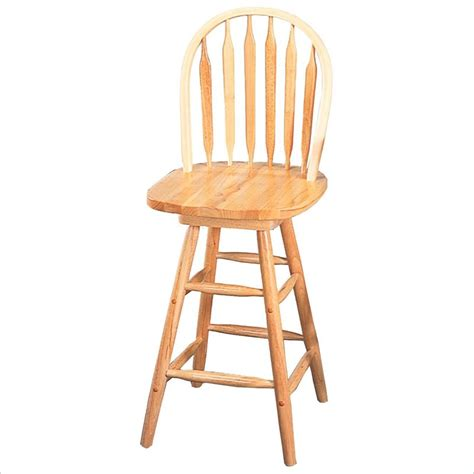 24 inch swivel bar stools with back coaster damen 24 inch arrow back windsor swivel bar stool