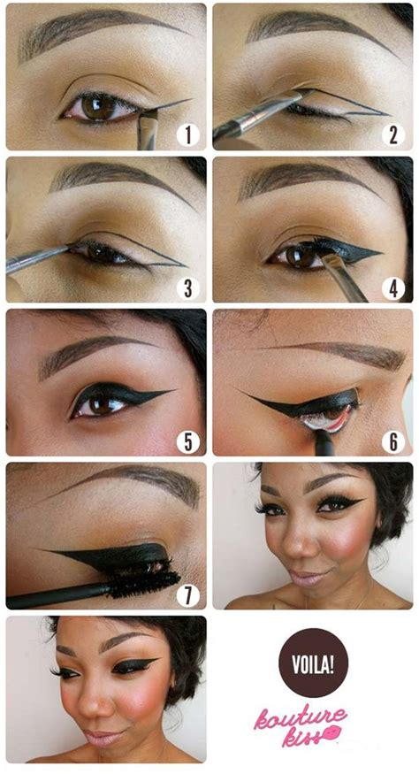 eyeliner tutorial with tape 37 winged eyeliner tutorials page 4 of 4 the goddess