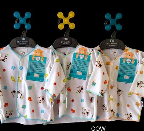 Obral Libby 3 Pcs Baju Lengan Panjang Motif Print Newborn jual libby 3pc tangan panjang motif 3 6m lemari anak