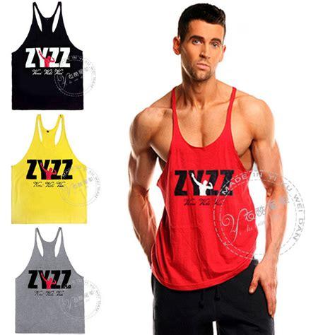 pro zyzz tank top stringer bodybuilding vest