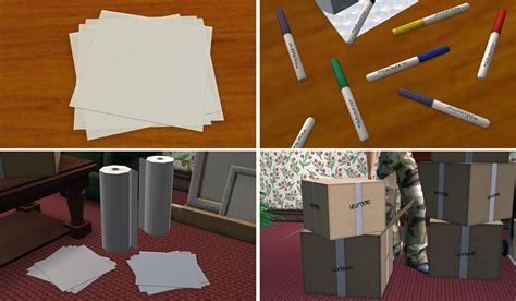 sims 4 moving boxes mod the sims moving day boxes tape and more