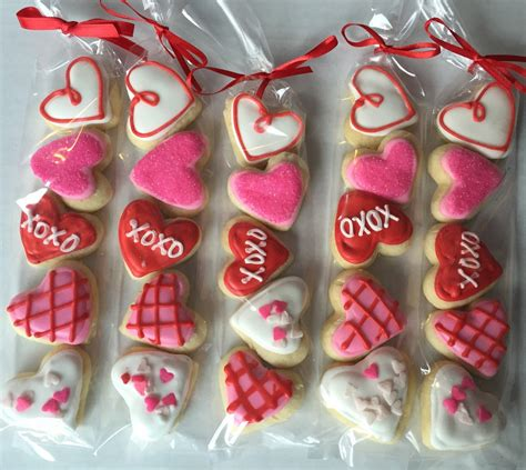 valentines day sugar cookies s day sugar cookie gift favor