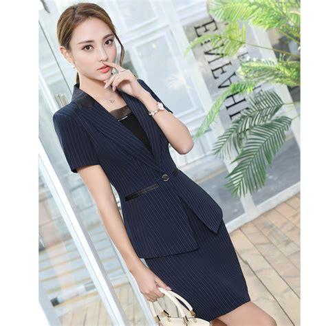 Women Work Wear Office Uniform Designs Women Blazer Set Fashion Skirt   Short Hairstyle 2013