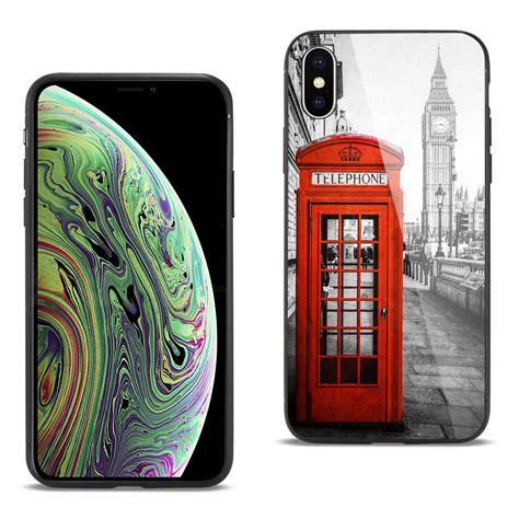 reiko iphone xs max glass design tpu maxstrata walmart