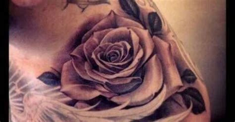 rose and dove tattoo thinking about doing this like this on my dove