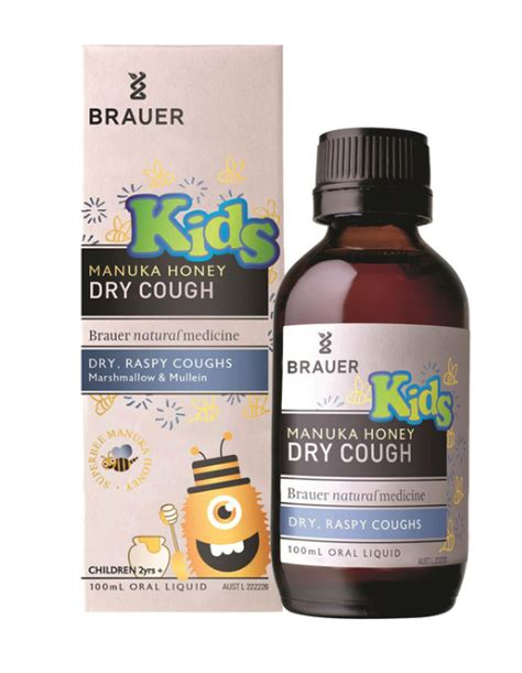 Brauer Baby Child Cough 100ml Brauer Manuka Honey Cough 100ml Nature