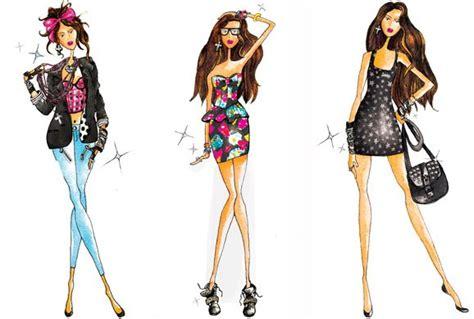 fashion illustration drawing tools desain busana reenapuji